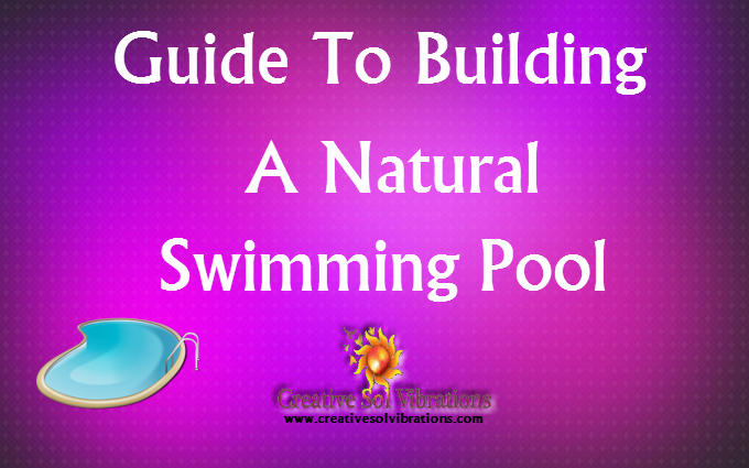 Step By Step Guide To Building A Natural Swimming Pool