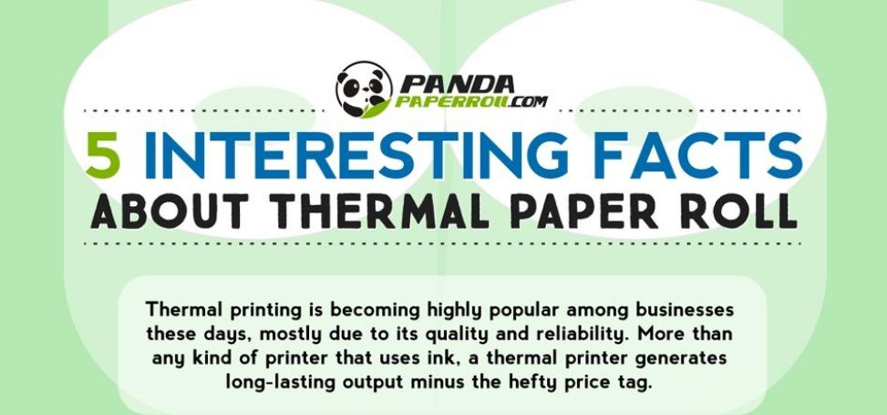 Interesting Facts about Thermal Paper Roll