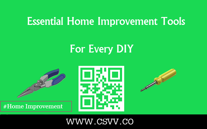 Essential Home Improvement Tools for Every DIY
