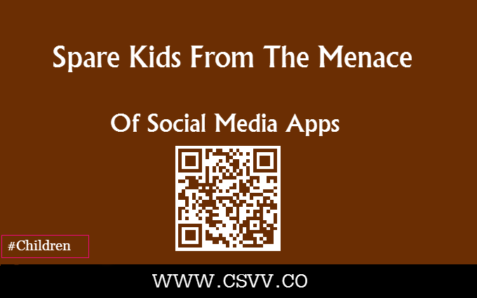 Spare Kids From The Menace of Social Media Apps