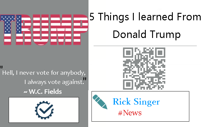 5 Things I Learned from Donald Trump