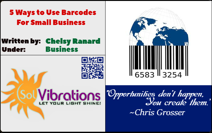 5 Ways to Use Barcodes for Small Business