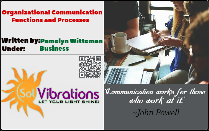 Organizational Communication: Functions and Processes