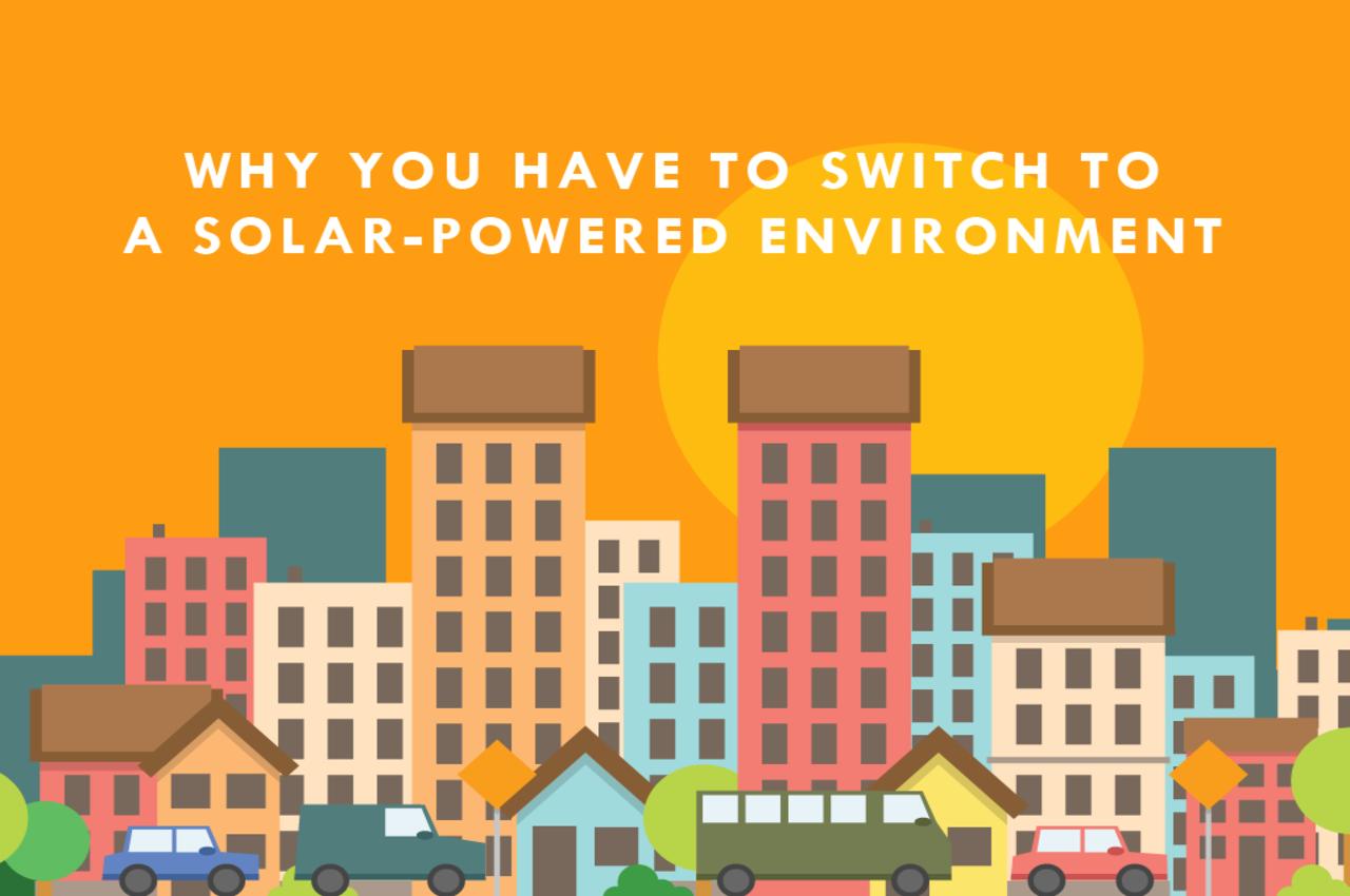 solar powered environment