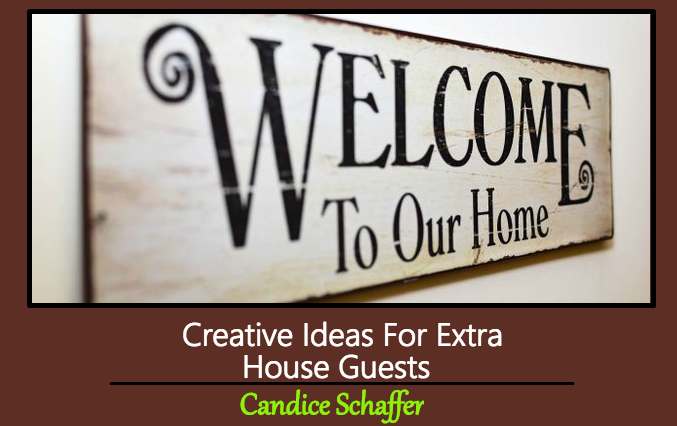 Creative Ideas For Extra House Guests