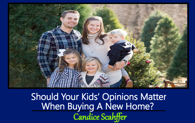 Should Your Kids' Opinions Matter When Buying A New Home?