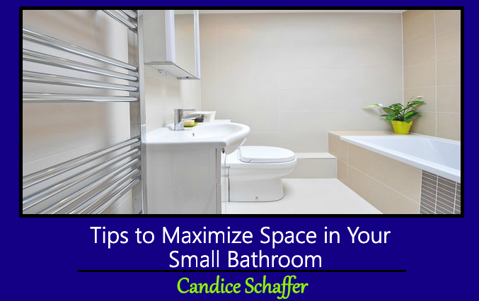 Tips to Maximize Space In Your Small Bathroom